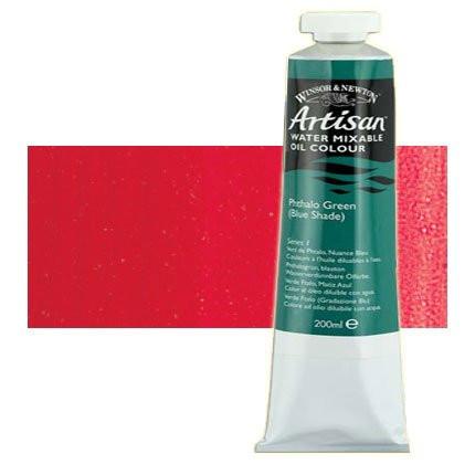 Óleo al agua Winsor & Newton Artisan color tono rojo cadmio oscuro (200 ml)