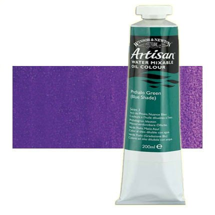 Óleo al agua Winsor & Newton Artisan color púrpura dioxacina (200 ml)