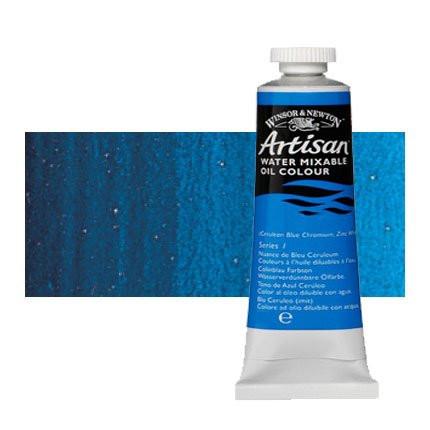 Óleo al agua Winsor & Newton Artisan color azul ftalo sombra roja (37 ml)