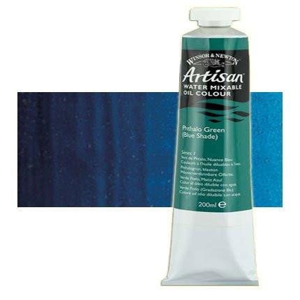 Óleo al agua Winsor & Newton Artisan color azul Prusia (200 ml)