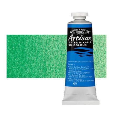 Óleo al agua Winsor & Newton Artisan color verde esmeralda (37 ml)