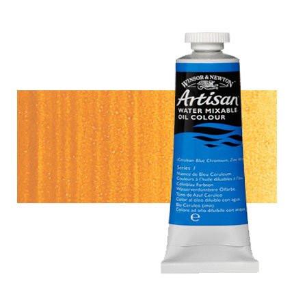Óleo al agua Winsor & Newton Artisan color ocre amarillo (37 ml)