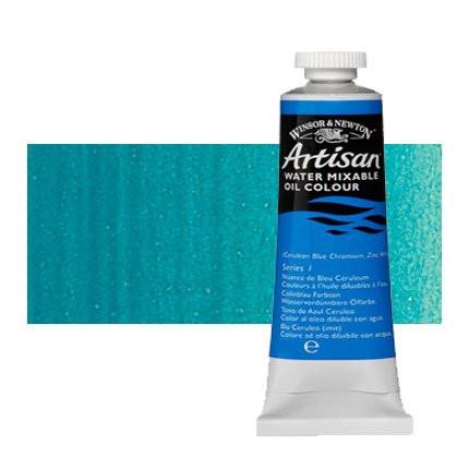 Óleo al agua Winsor & Newton Artisan color azul cerúleo (37 ml)