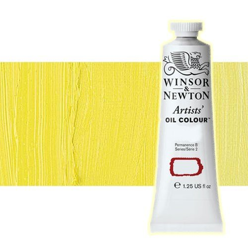 Óleo Winsor & Newton Artists color amarillo de bismuto (37 ml)