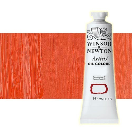 Óleo Winsor & Newton Artists color escarlata cadmio (37 ml)