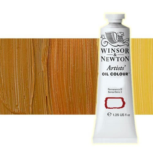 Óleo Winsor & Newton Artists color amarillo indio (37 ml)