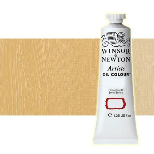 Óleo Winsor & Newton Artists color amarillo de Nápoles (37 ml)