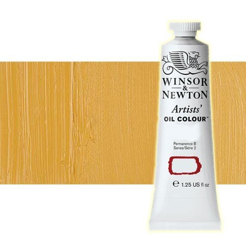 Óleo Winsor & Newton Artists color amarillo de Nápoles oscuro (37 ml)
