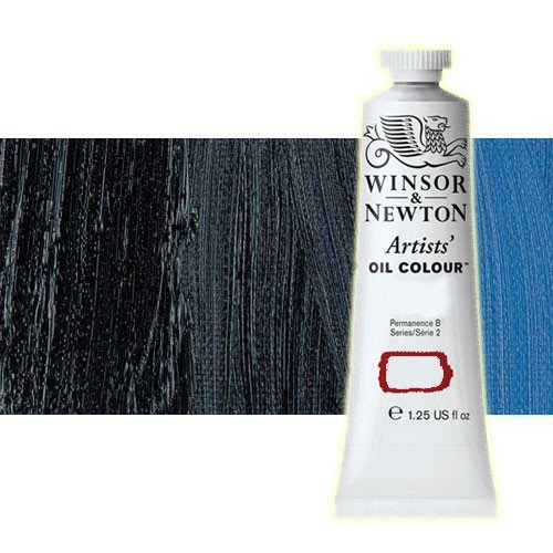 Óleo Winsor & Newton Artists color azul Prusia (37 ml)