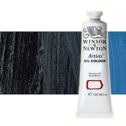 Óleo Winsor & Newton Artists color azul Prusia (37 ml)