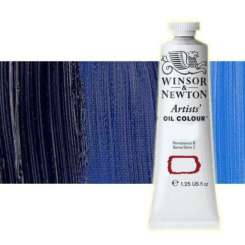 Óleo Winsor & Newton Artists color ultramar sombra verde (37 ml)