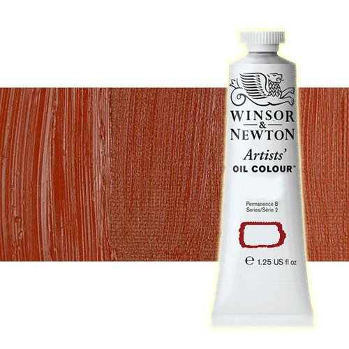 Óleo Winsor & Newton Artists color rojo de Venecia (37 ml)