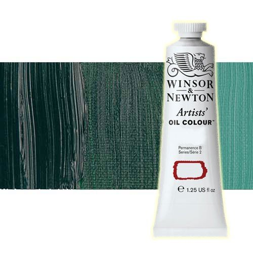 Óleo Winsor & Newton Artists color viridiano (37 ml)