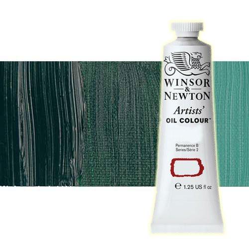 Óleo Winsor & Newton Artists color viridiano (37 ml)
