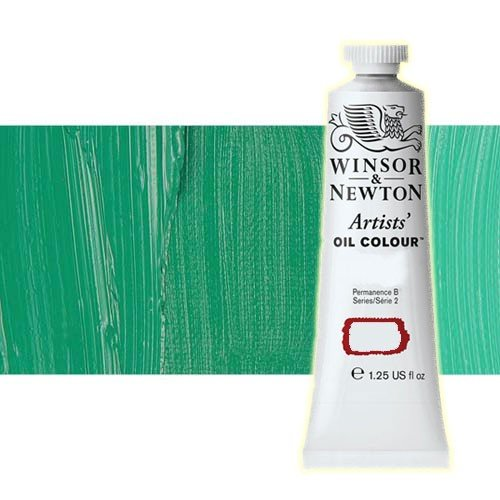 Óleo Winsor & Newton Artists color esmeralda Winsor (37 ml)