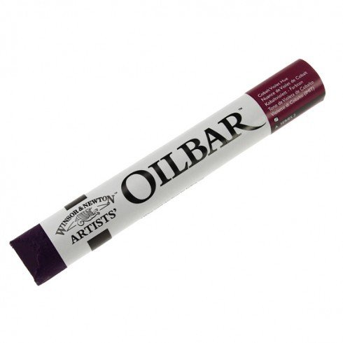 Óleo en barra Winsor & Newton Artists Oilbar color violeta cobalto tono (50 ml)