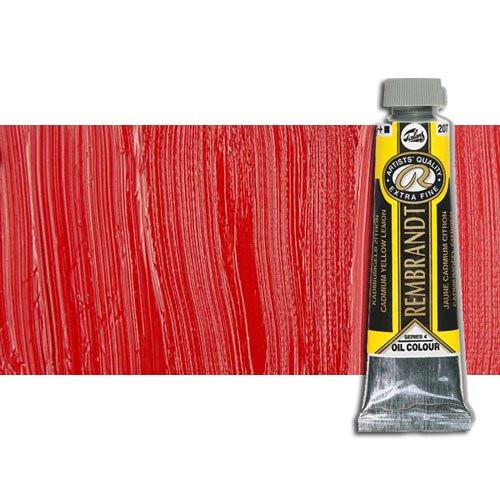 Óleo Rembrandt color Rojo Cadmio Oscuro 306 (40 ml.)