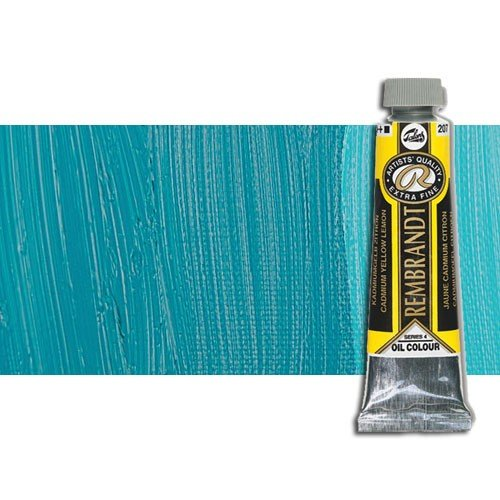 Óleo Rembrandt color Azul Turquesa Ftalo 565 (40 ml.)