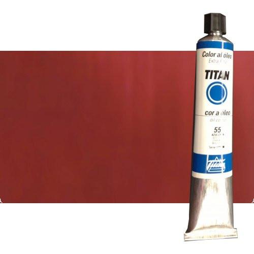 Óleo Titan extra fino color rojo inglés oscuro (200 ml)*D*