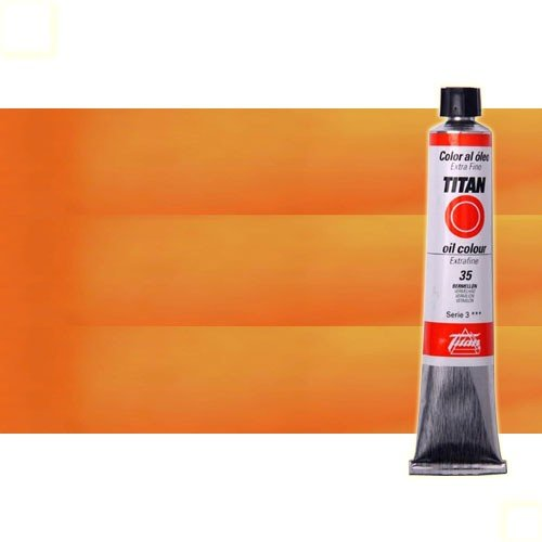 Óleo Titan extra fino color amarillo Stil de grain (60 ml)