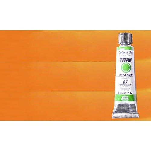 Óleo Titan extra fino color amarillo indio (20 ml)