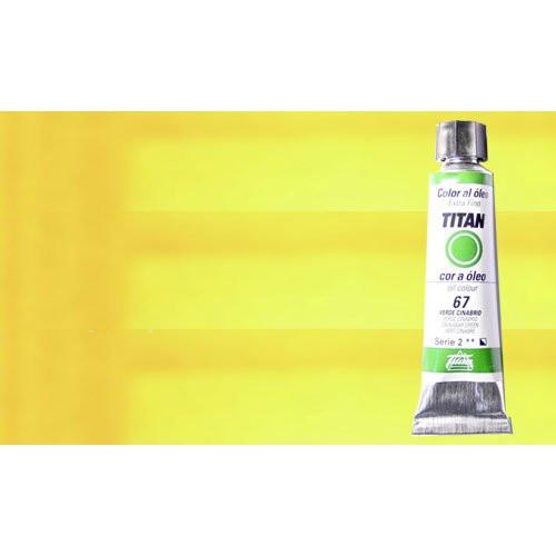 Óleo Titan extra fino color amarillo Titan limón (20 ml)