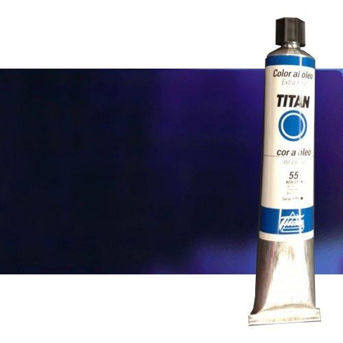 Óleo Titan extra fino color azul Titan (200 ml)