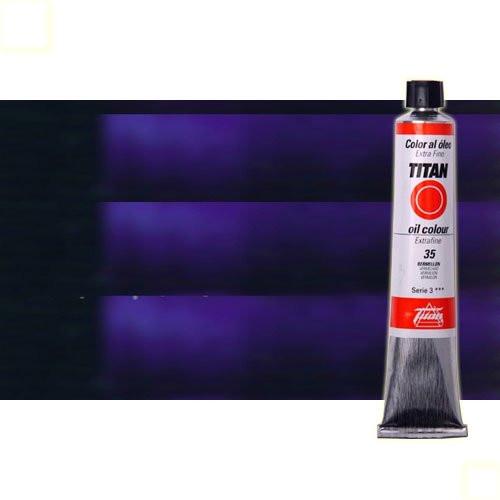 Óleo Titan extra fino color azul Prusia (60 ml)