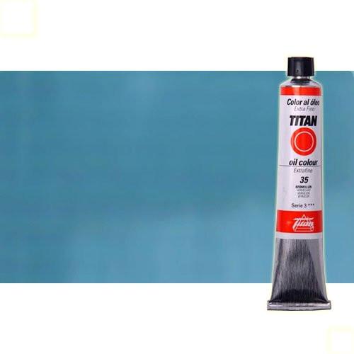 Óleo Titan extra fino color azul celeste (60 ml)