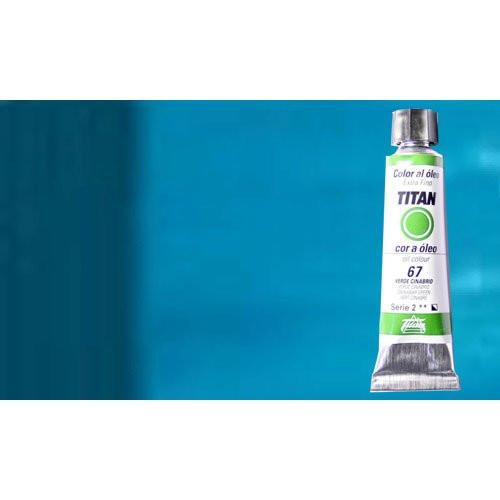 Óleo Titan extra fino color azul manganeso ftalocianina (20 ml)