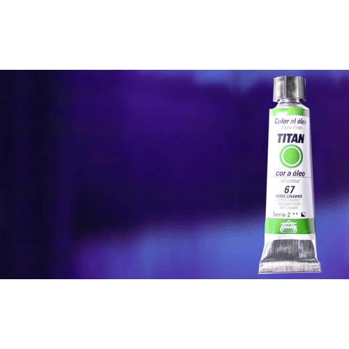 Óleo Titan extra fino color azul ultramar oscuro (20 ml)