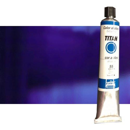 Óleo Titan extra fino color azul ultramar oscuro (200 ml)