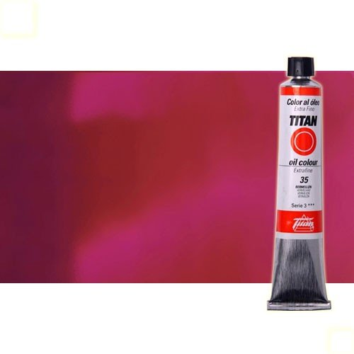 Óleo Titan extra fino color violeta permanente medio (60 ml)