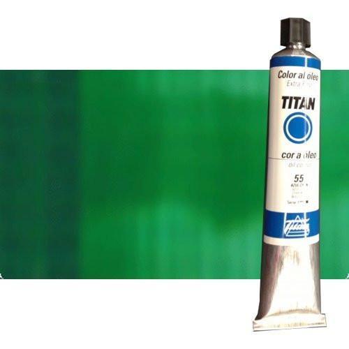 Óleo Titan extra fino color verde esmeralda (200 ml)