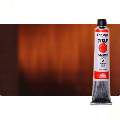 Óleo Titan extra fino color pardo óxido transparente (60 ml)