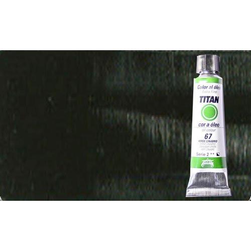 Óleo Titan extra fino color negro humo (20 ml)