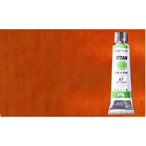 Óleo Titan extra fino color ocre amarillo claro (20 ml)