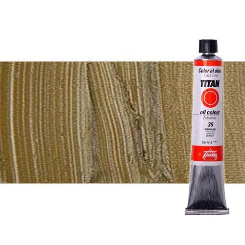 Óleo Titan extra fino color bronce (60 ml)