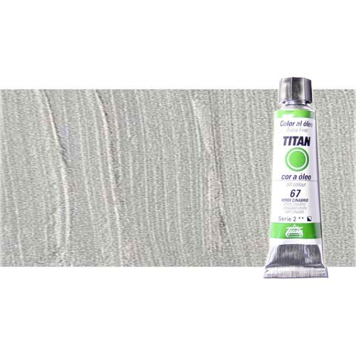 Óleo Titan extra fino color plata (20 ml)