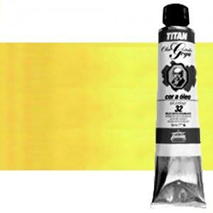 Óleo Titan Goya color amarillo Goya medio, 200 ml.