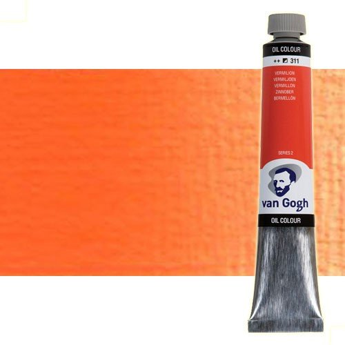 Óleo Van Gogh color anaranjado cadmio (200 ml)