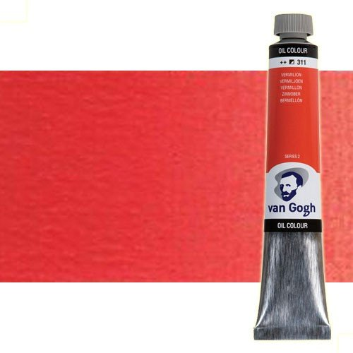 Óleo Van Gogh color rojo cadmio medio (200 ml)