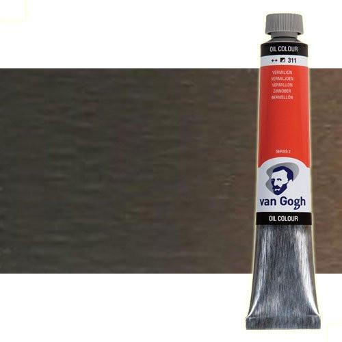 Óleo Van Gogh color tierra sombra natural (200 ml)