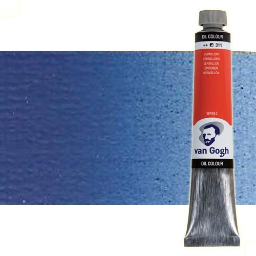 Óleo Van Gogh color azul cobalto ultramar (200 ml)