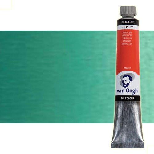 Óleo Van Gogh color azul turquesa (200 ml)
