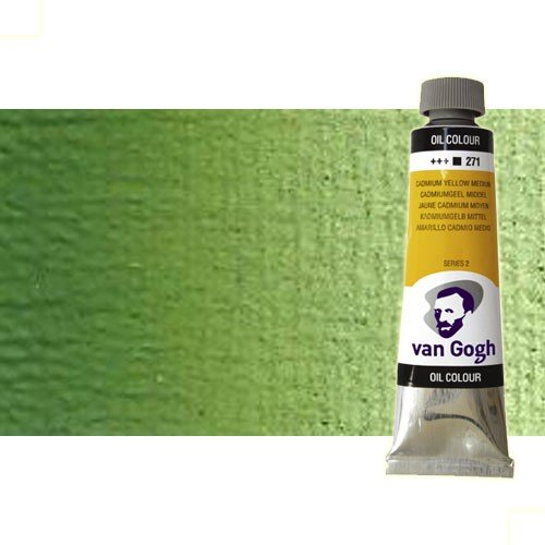 Óleo Van Gogh color verde vejiga (60 ml)