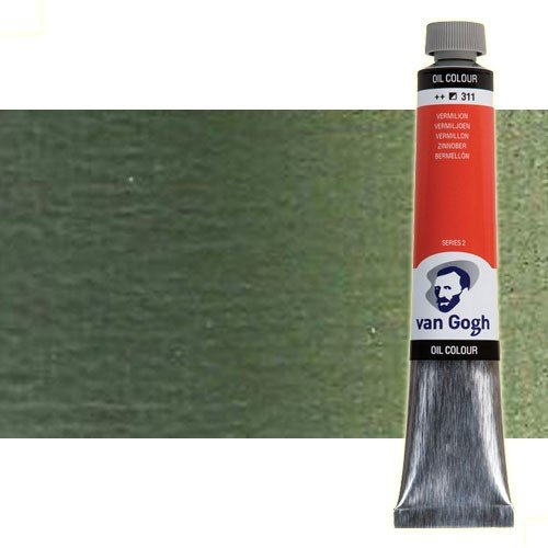 Óleo Van Gogh color tierra verde (200 ml)