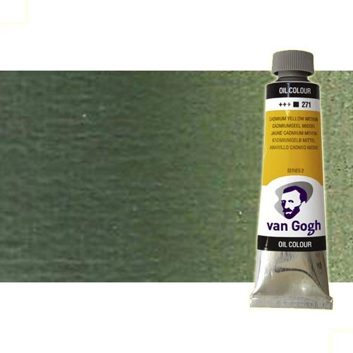 Óleo Van Gogh color tierra verde (60 ml)