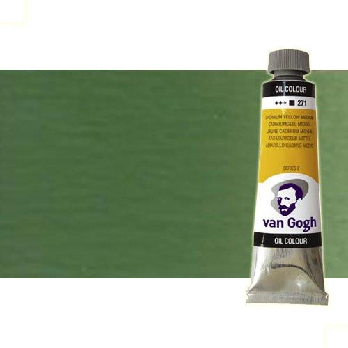 Óleo Van Gogh color verde óxido cromo (60 ml)