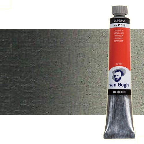 Óleo Van Gogh color gris Payne (200 ml)